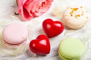 entend et bonbons fond de valentine photo