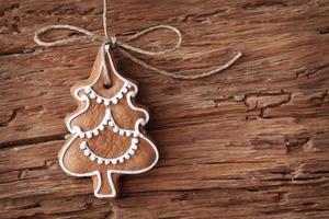 sapin de Noël en pain d'épice photo