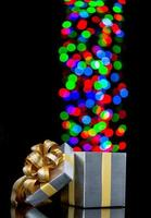 boîte cadeau ouverte photo