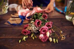 conception de bouquet