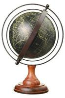 globe vintage photo