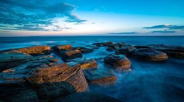 mer de pierres photo