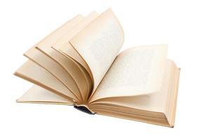 tourner les pages d'un vieux livre photo