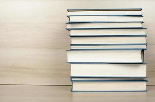 livres bleus photo