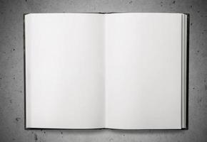 livre, ouvert, haut photo