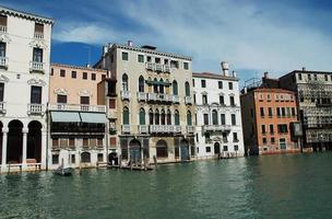 Grand Canal à Venise, Italie photo