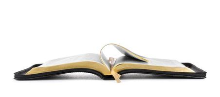 livre sainte bible ouvert