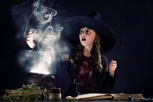 sorcière d'halloween photo