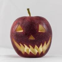 pomme d'halloween