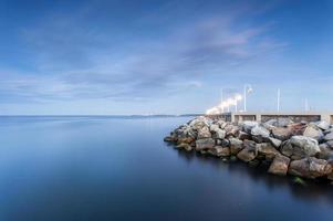 le bord de la mer baltique