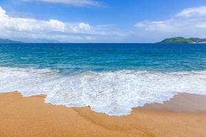 sable de la plage mer du vietnam
