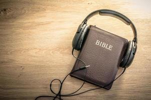 fond de la Bible photo