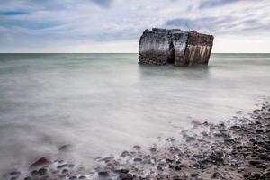 hiver sur la mer baltique photo