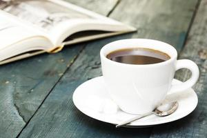 café et livre
