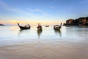 Railay Beach, Krabi, mer d'Andaman, Thaïlande