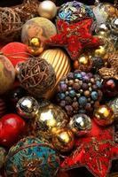 jouets d'arbre de Noël photo