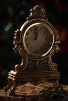 horloge de noel