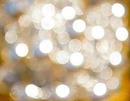 arbre de Noël brillant, fond abstrait photo