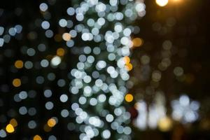 fond de Noël bokeh