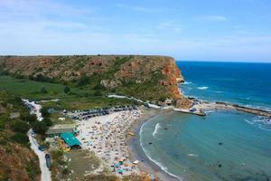 Bolata Beach, près du cap Kaliakra, Bulgarie