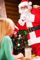 c'est toi le père Noël?