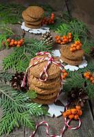 biscuit de Noël pour le père Noël