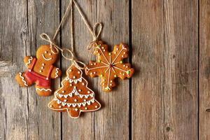 biscuits de pain d'épice maison de Noël