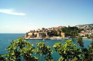 La vue de la forteresse d'Ulcinj, Monténégro photo