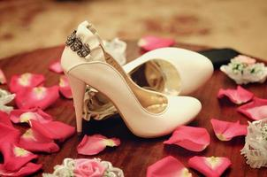 chaussures de mariage photo