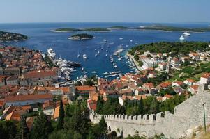 Port de Hvar, Croatie photo