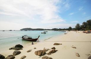 Lipe Island, Koh Lipe, province de Satun Thaïlande photo