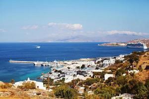 ville de mykonos, grèce photo