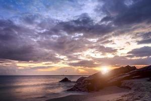 sunrise beach view samila
