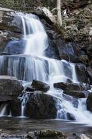 cascade dans le parc national enfumé