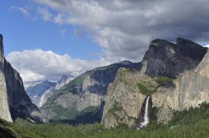 Yosemite Valley - chute du voile de mariée