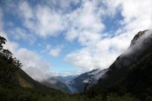 fiordland, île du sud, nouvelle zélande photo