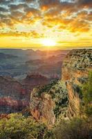 grand canyon au lever du soleil photo