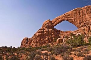 Fenêtre sud, Arches National Park, Utah, USA photo