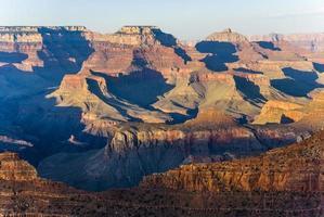 Grand canyon à mathers point au coucher du soleil photo