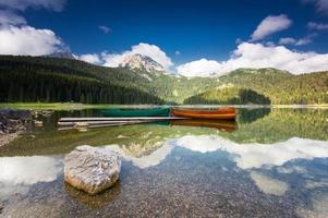 Black Lake dans le parc national de Durmitor, Monténégro