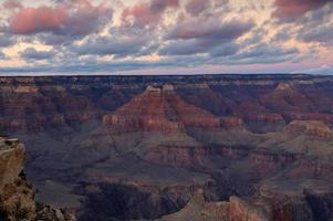 grand canyon au crépuscule photo