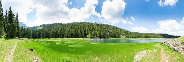 crno jezero, monténégro