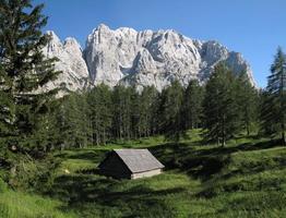 massif de prisojnik - parc national du triglav
