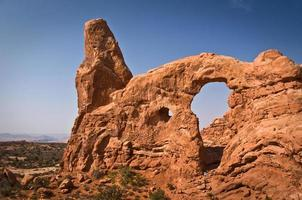Arc de la tourelle, Arches National Park, Utah, USA photo