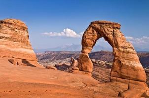 Arc délicat, parc national des arches, utah, usa photo