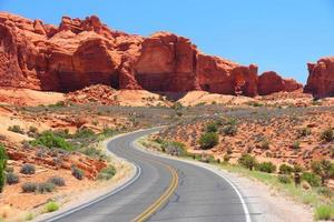 route panoramique des arches photo