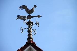 Girouette sur un toit en Allemagne