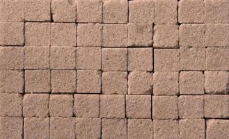 photographie de motif de cubes de sucre pour fond de nourriture photo