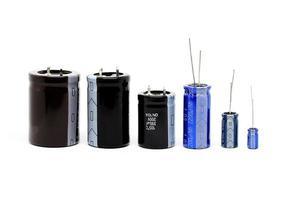 groupe de condensateurs photo