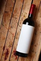 bouteille de vin rouge photo